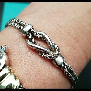 "Tiffany & Co. Double Rope ""Love Knot"" bracelet"